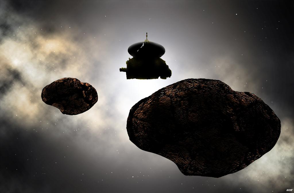 New Horizons arrive près de Ultima Thule, alias 2014 MU69