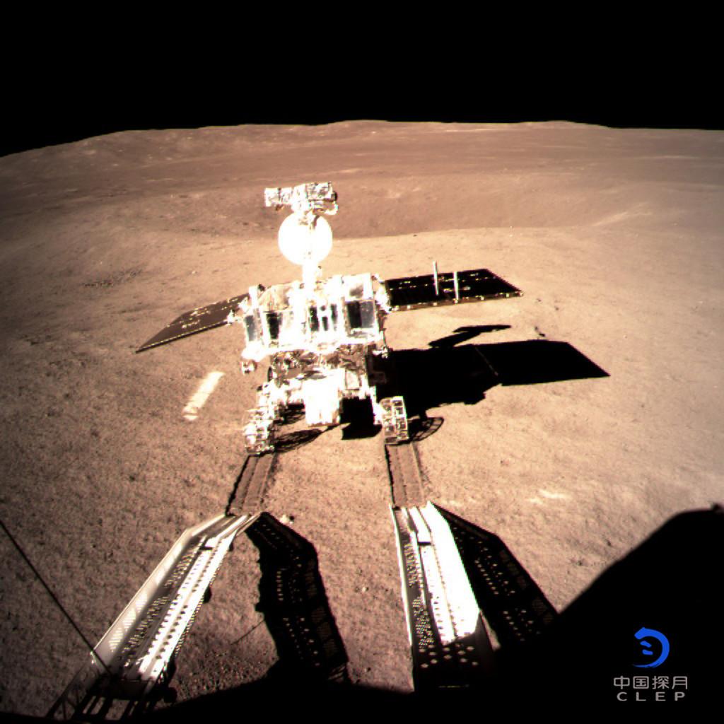 Yutu 2 sur la face cachée de la Lune