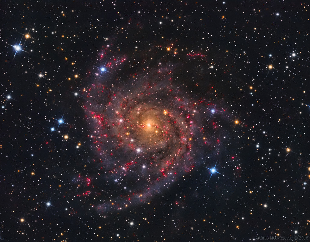 La galaxie cachée IC 342
