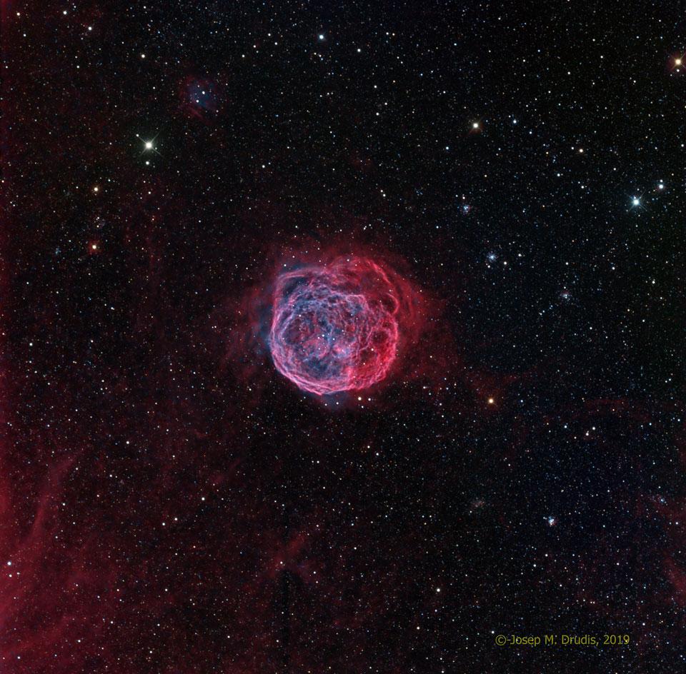 Henize 70, super bulle dans le Grand Nuage de Magellan
