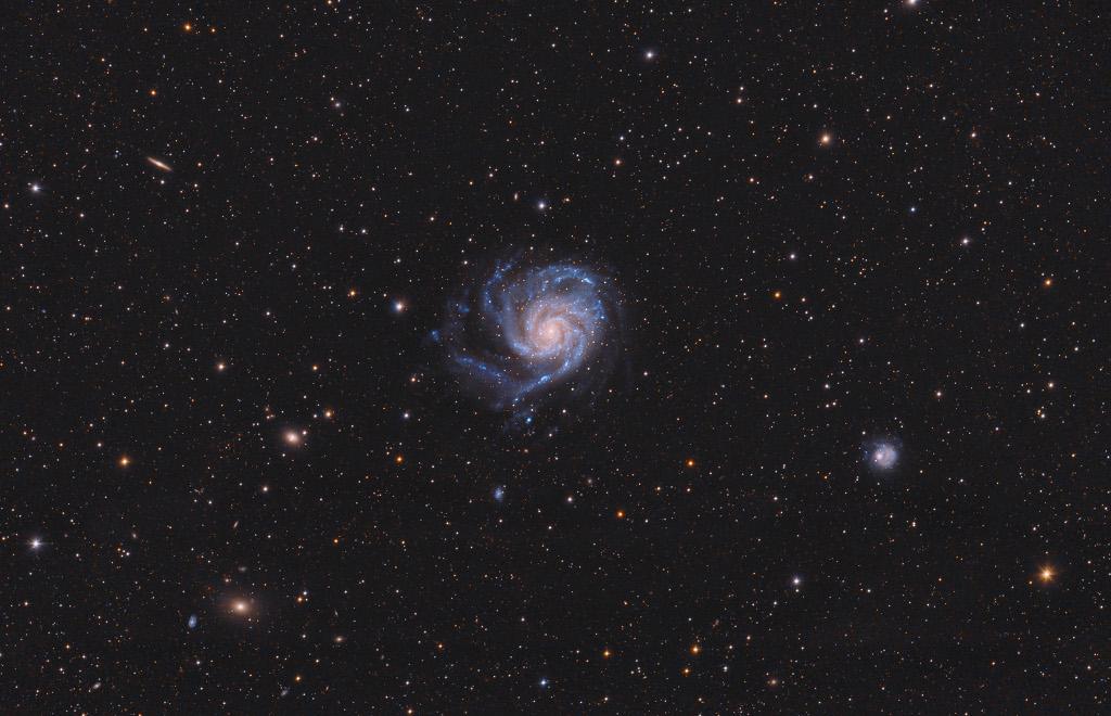 En route vers M101