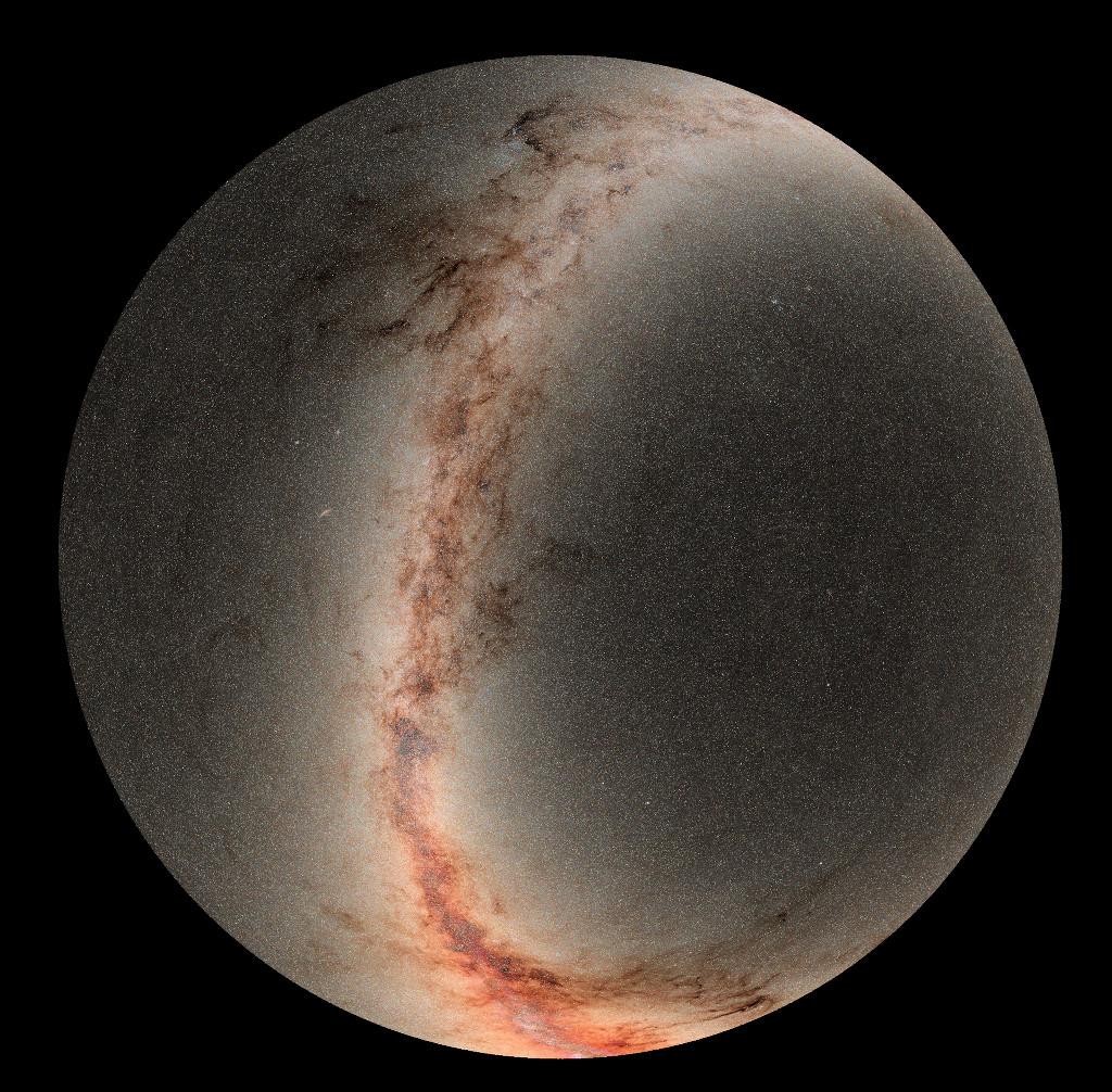 Le ciel vu par Pan-STARRS