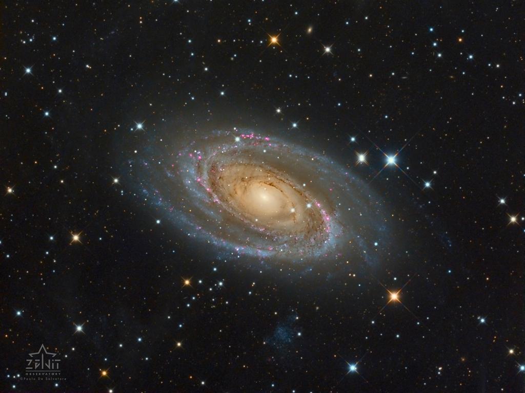La galaxie de Bode, Messier 81