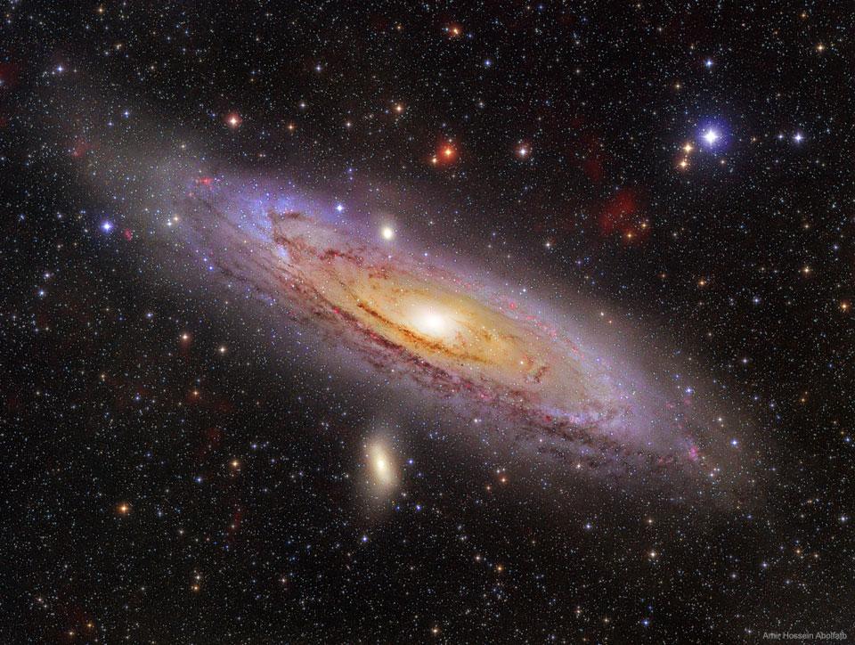 La galaxie d\'Andromède