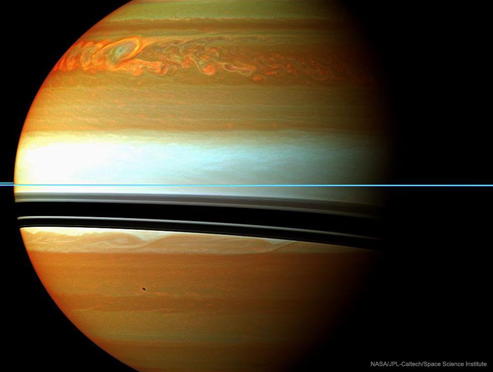 Grande dépression sur Saturne