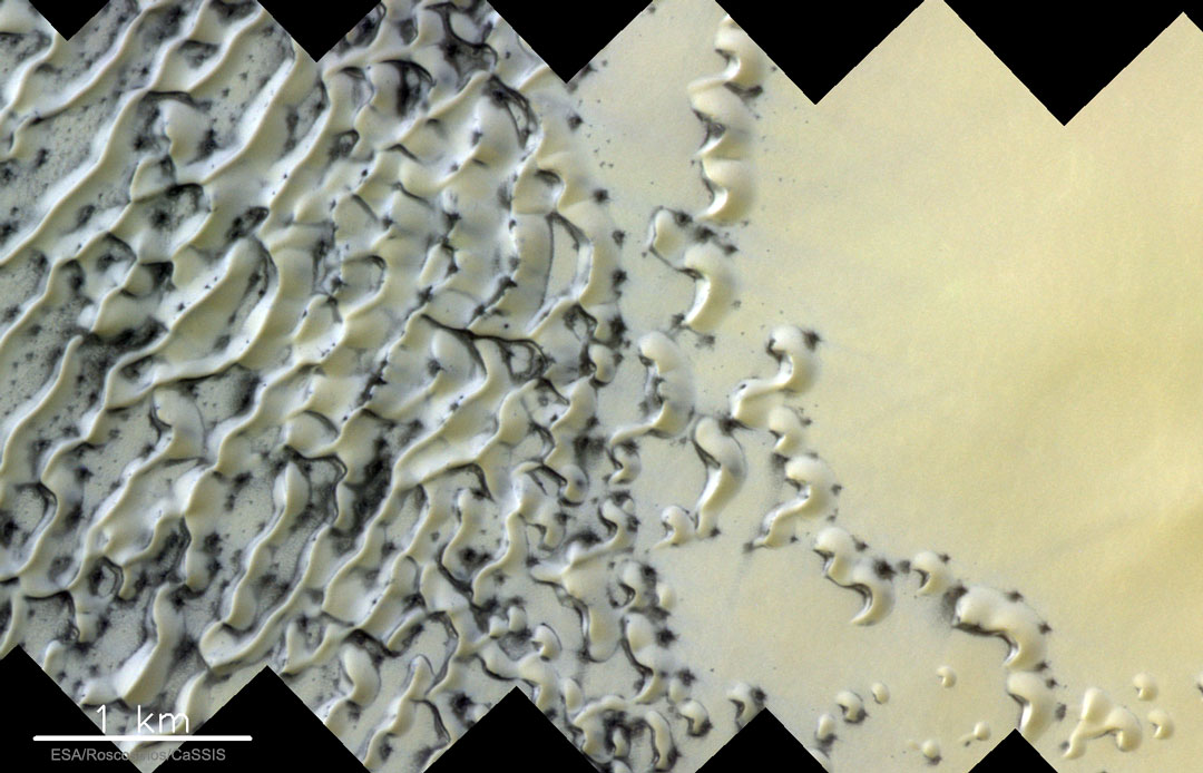 Fonte dunaire sur Mars