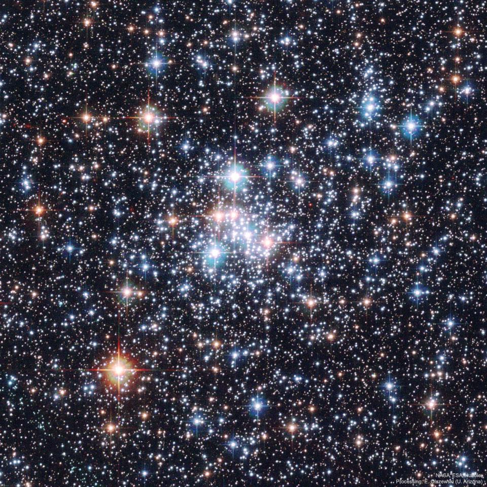 L\'amas ouvert NGC 290, une boîte à bijoux stellaire