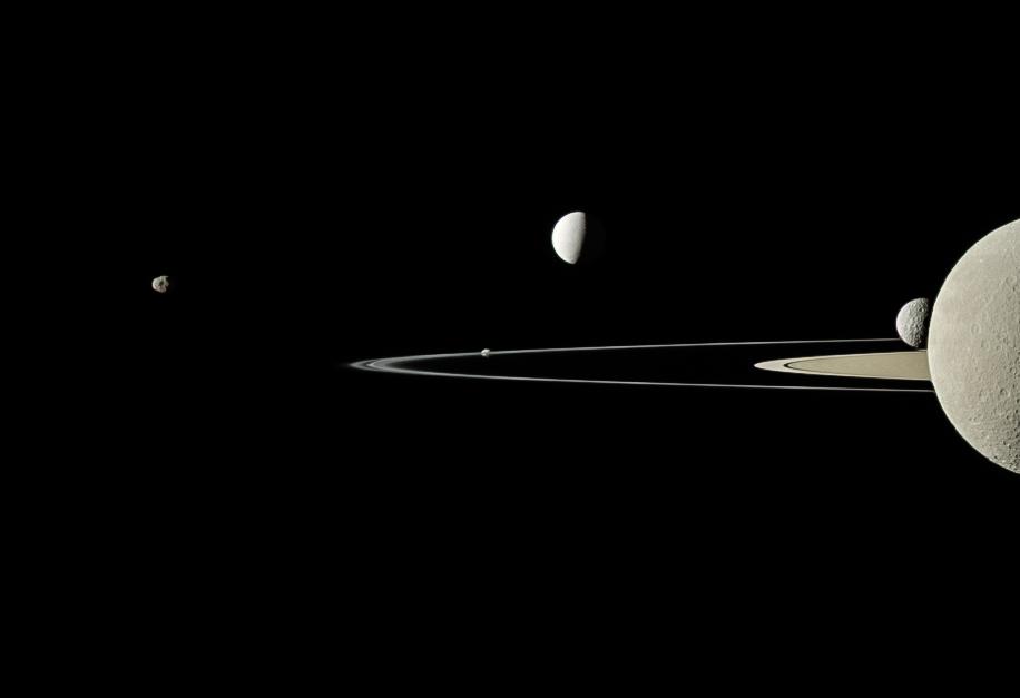 Saturne, reine des lunes du Système solaire