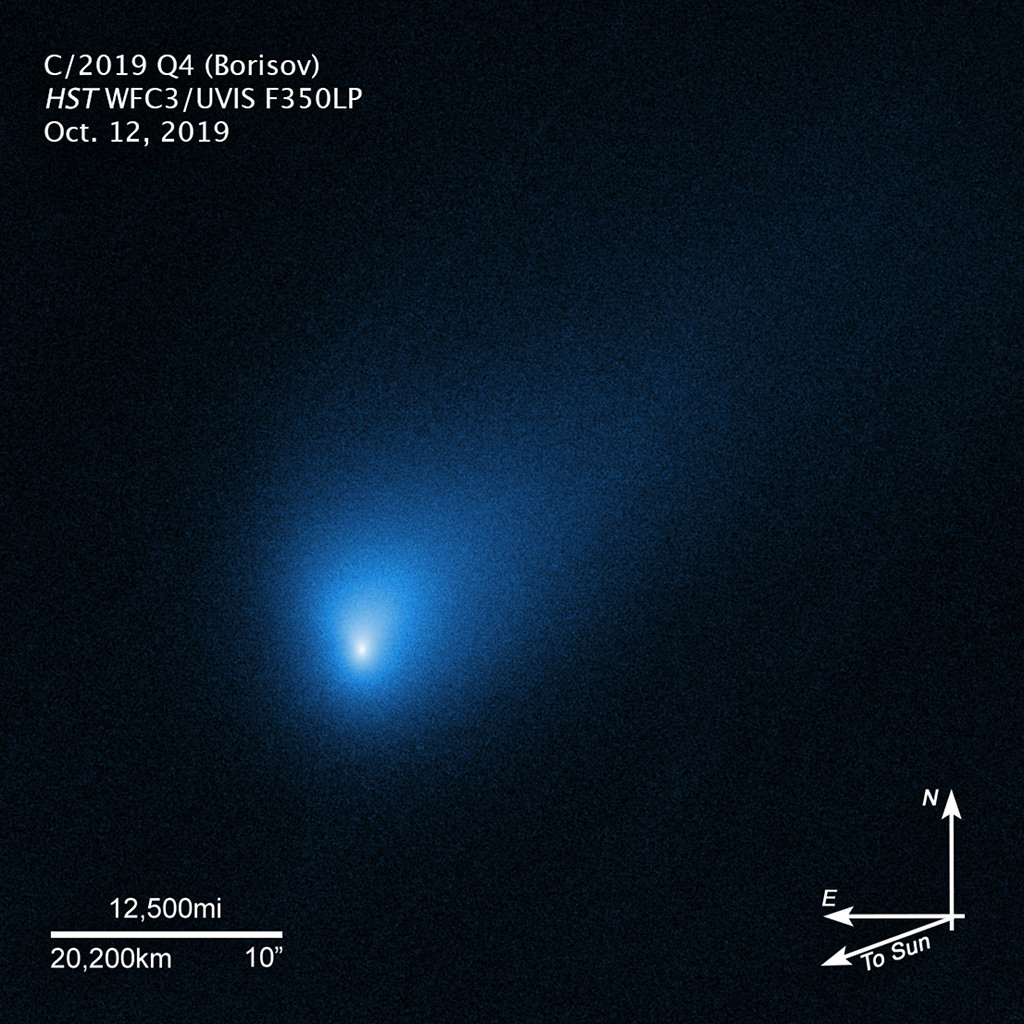 La comète interstellaire Borisov