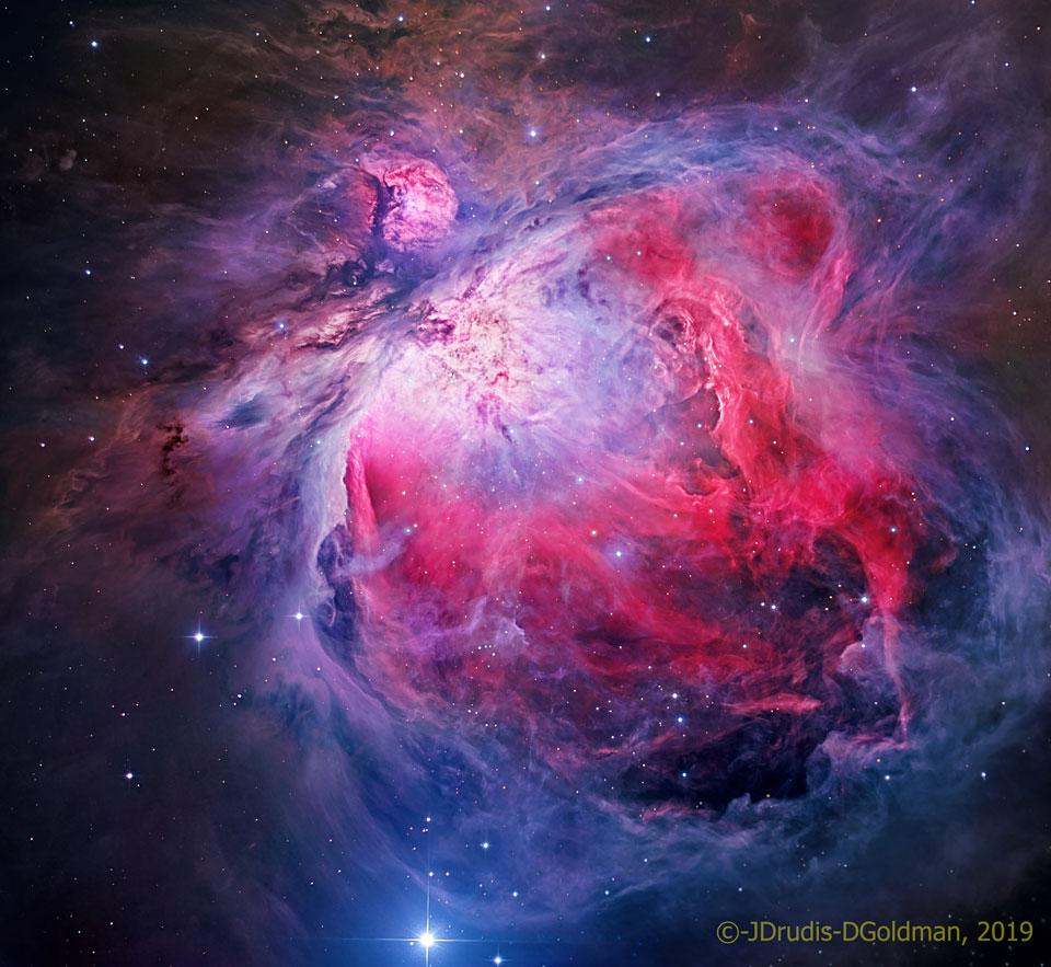 M42, la grande nébuleuse d\'Orion