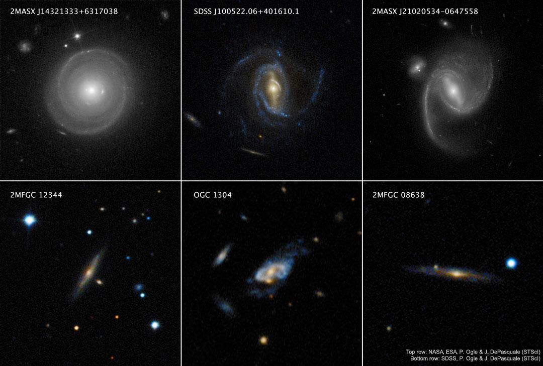 Le mystère des galaxies ultra rapides