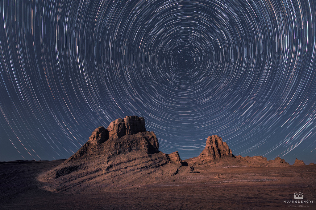 Filé d\'étoiles sur une défunte planète