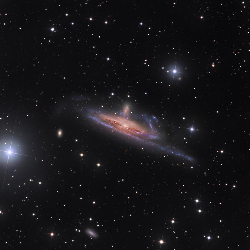 Galaxies dans le fleuve