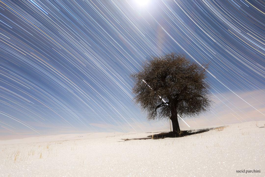 Filé d\'étoiles entre Nord et Sud