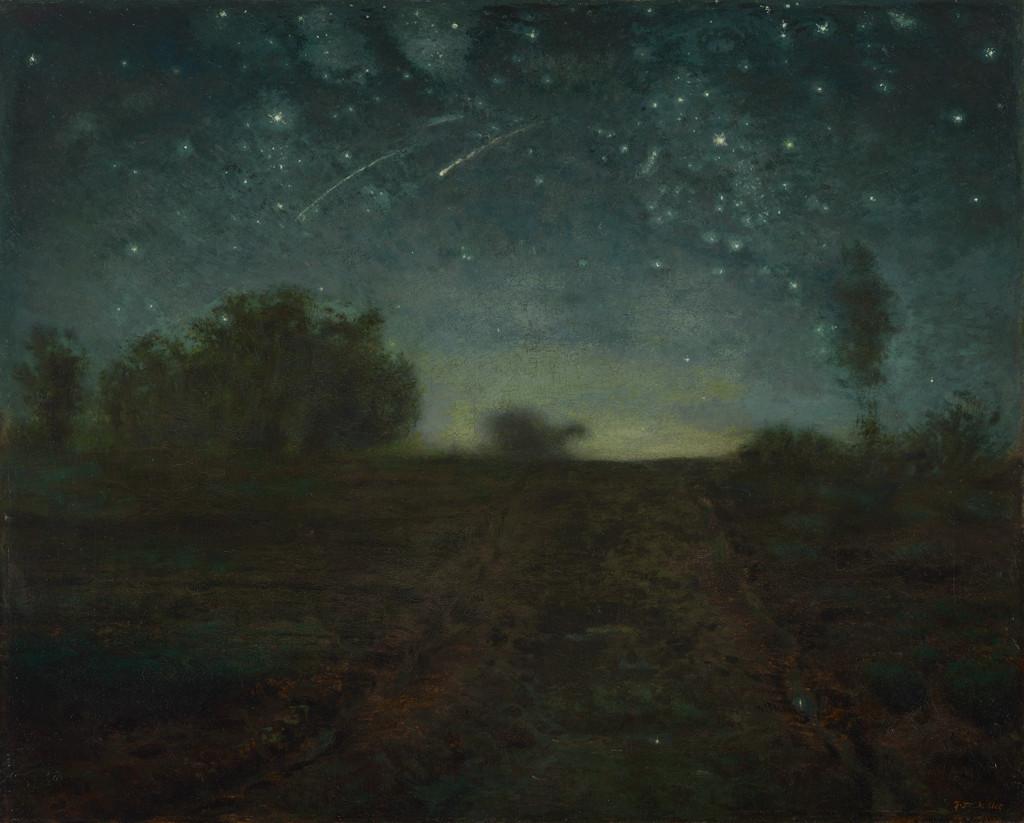 La nuit étoilée de Jean-François Millet