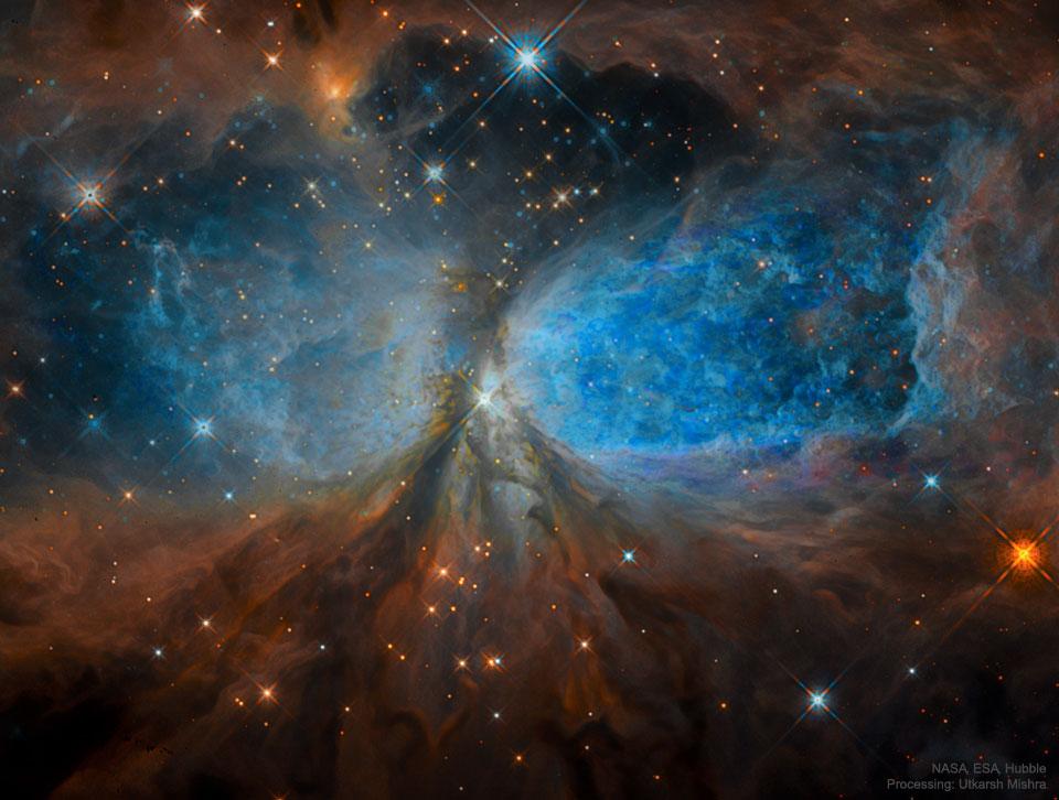 La région de formation d\'étoiles S106