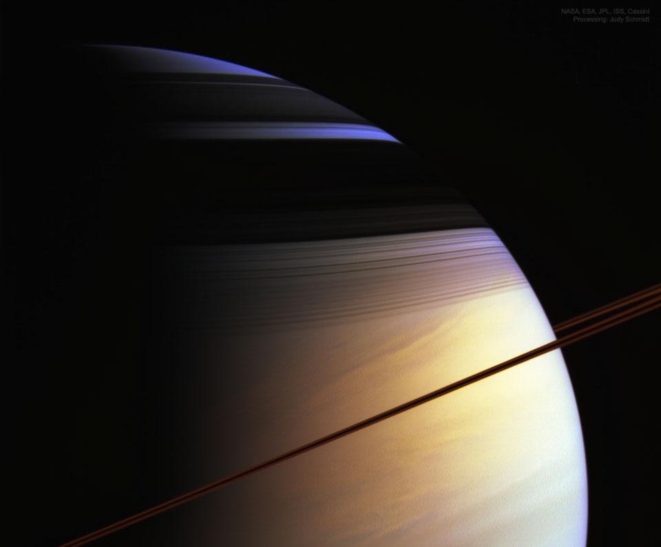 Les couleurs de Saturne
