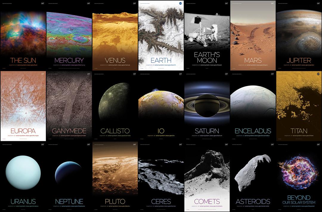 Posters de la NASA à imprimer
