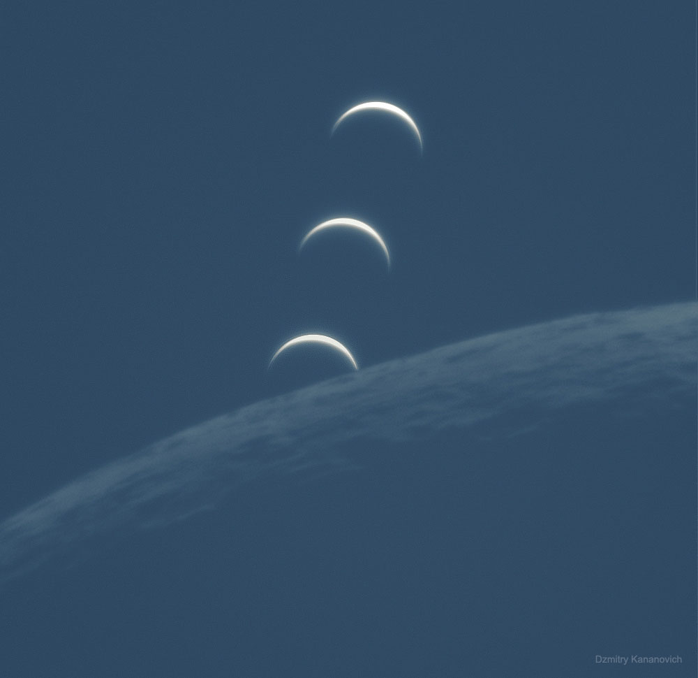Quand la Lune occulte Vénus