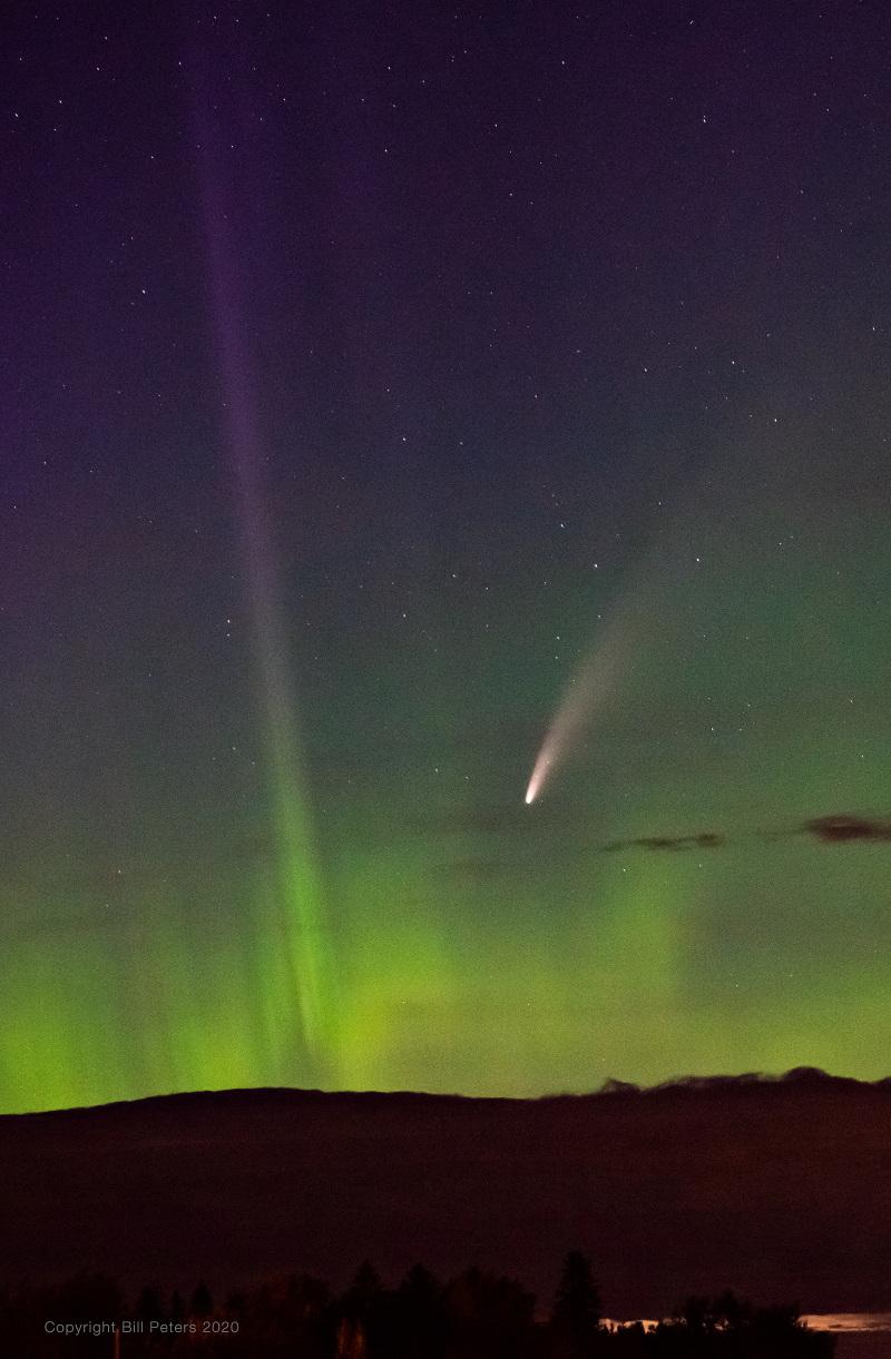 La comète dans le Grand Nord