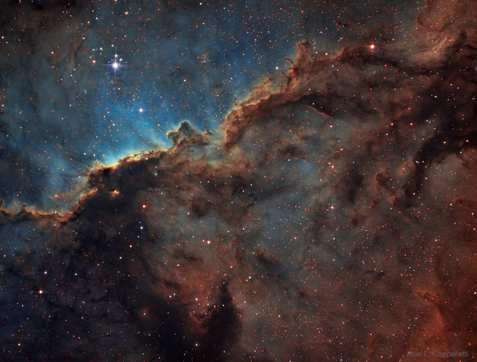 NGC 6188, les dragons de l\'Autel
