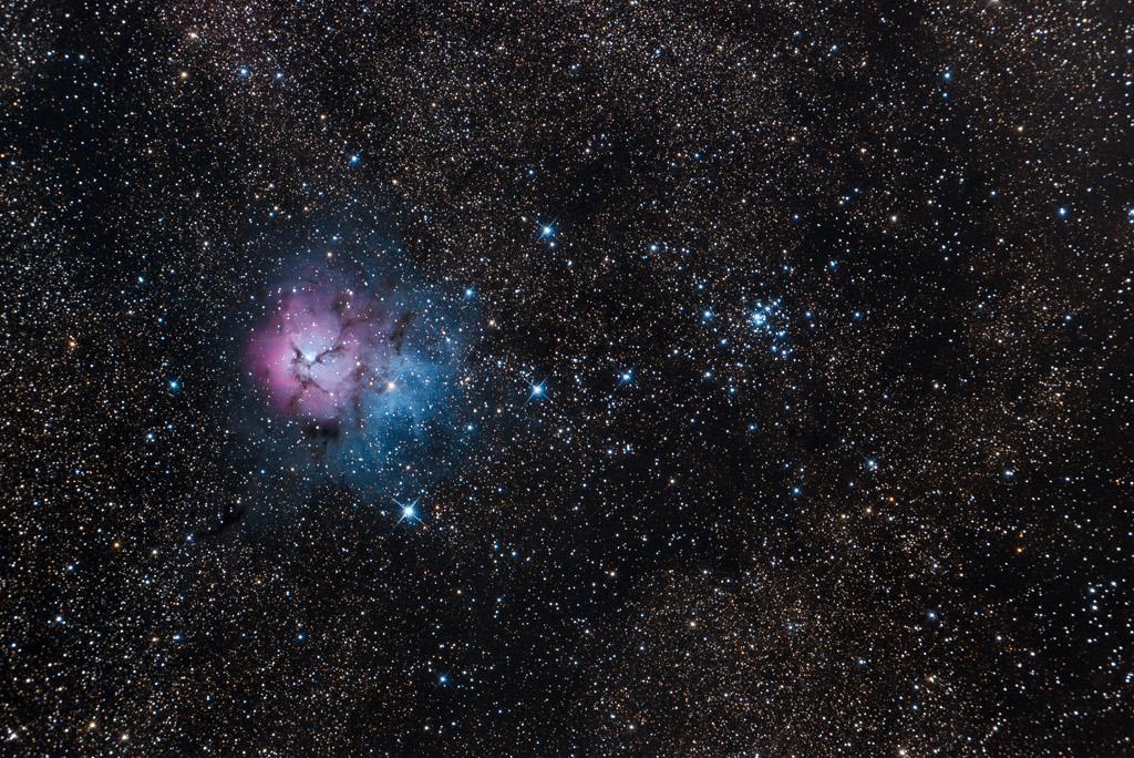 Messier 20 et 21
