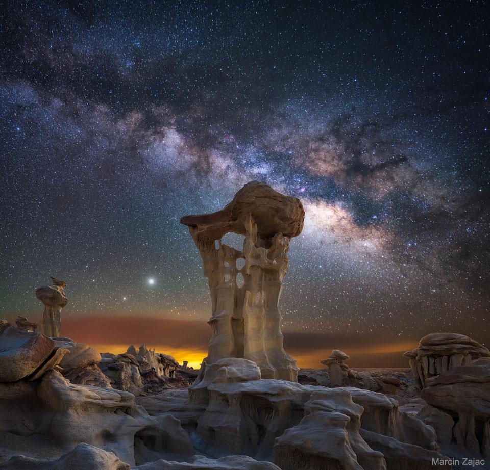 Jeu de planètes autour du trône extraterrestre