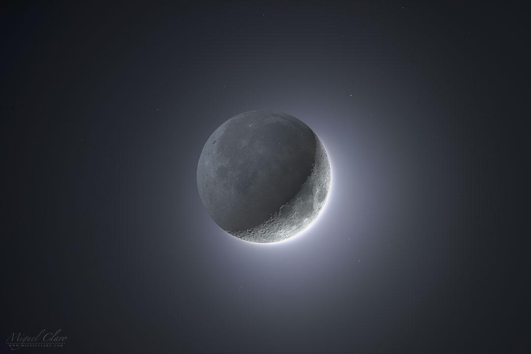 La Lune à grande gamme dynamique