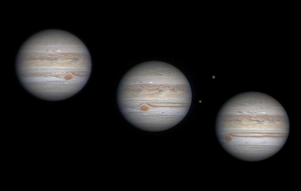 Une tempête trace son chemin sur Jupiter