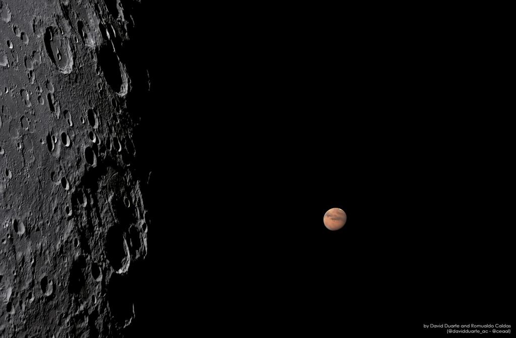 La réapparition de Mars