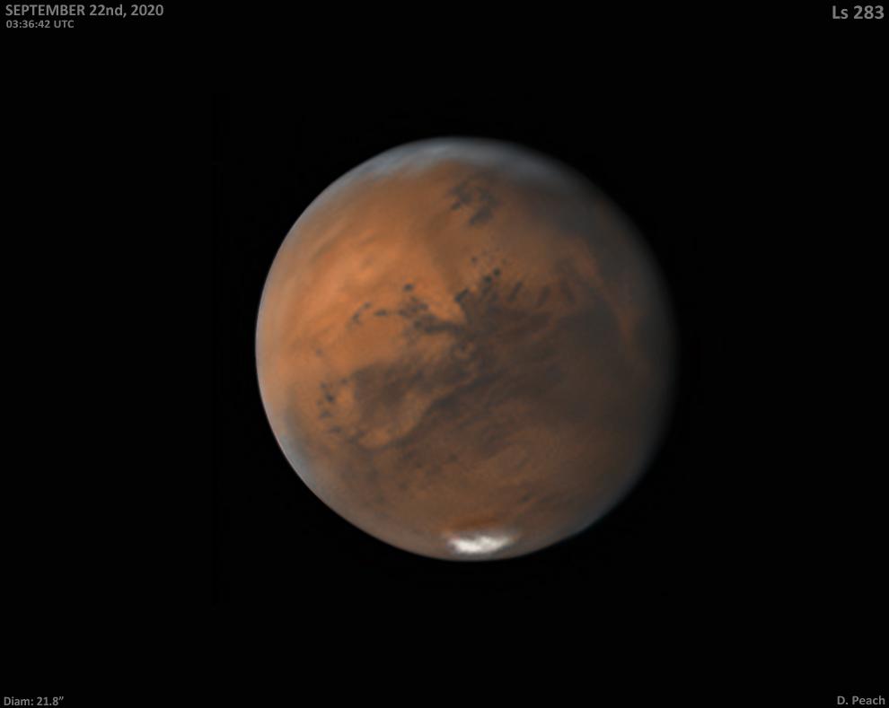 Solis Lacus, l\'oeil de Mars