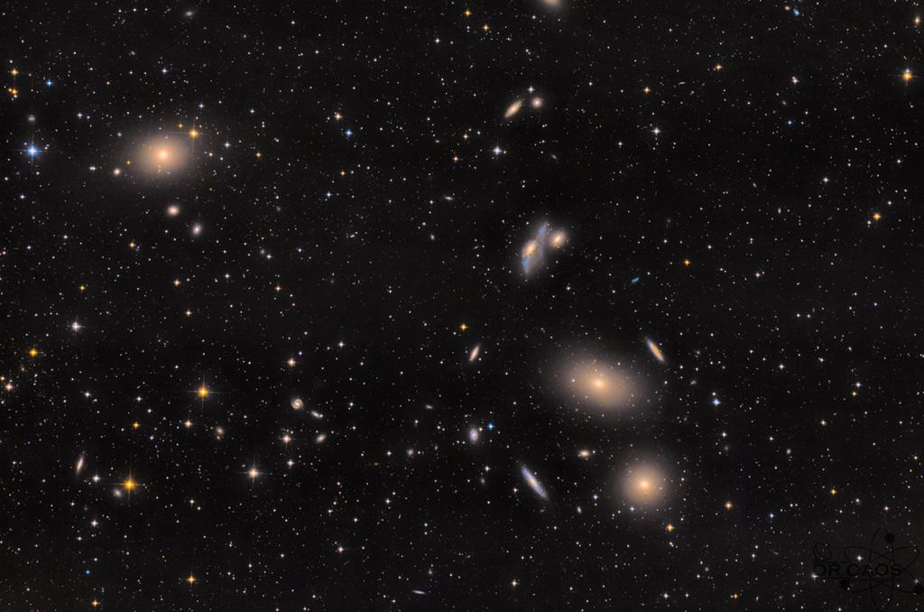 L\'amas de galaxies de la Vierge