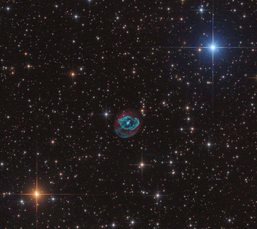La nébuleuse planétaire Abell 78