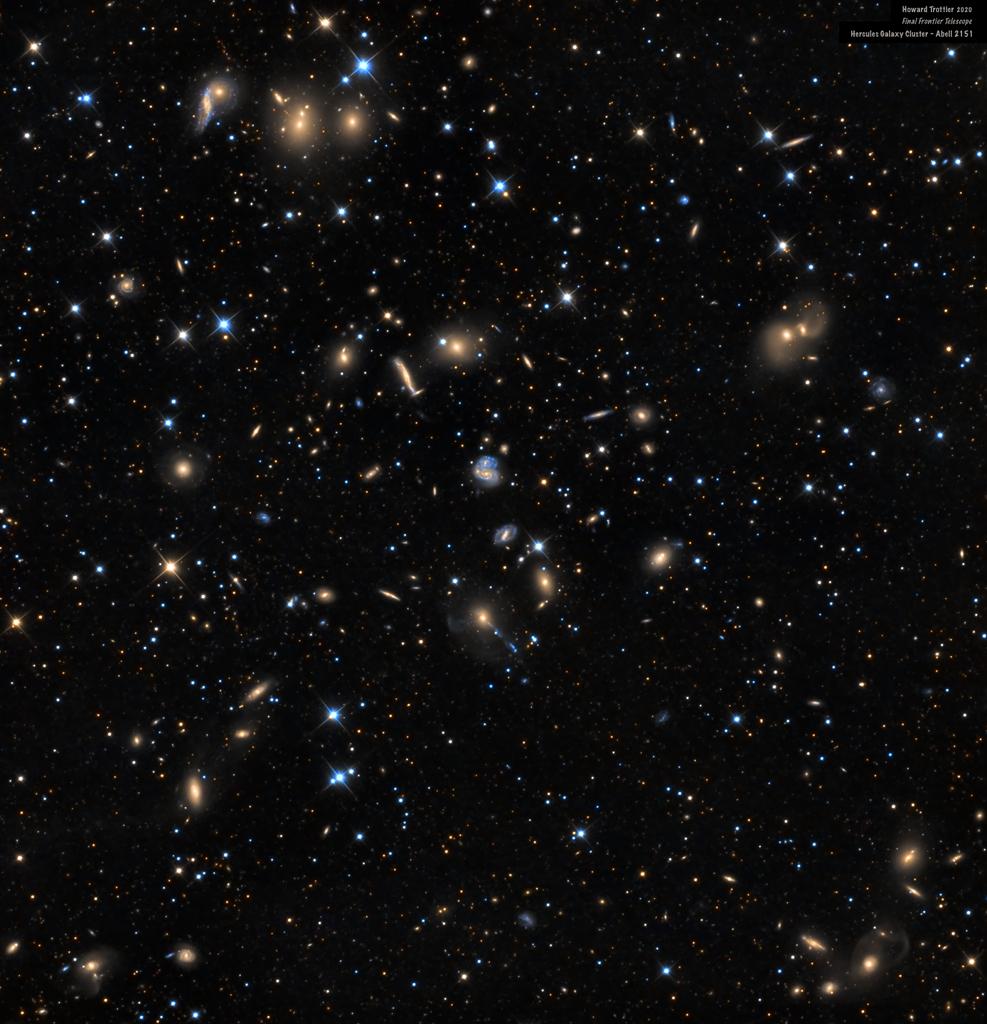 L\'amas de galaxies d\'Hercule