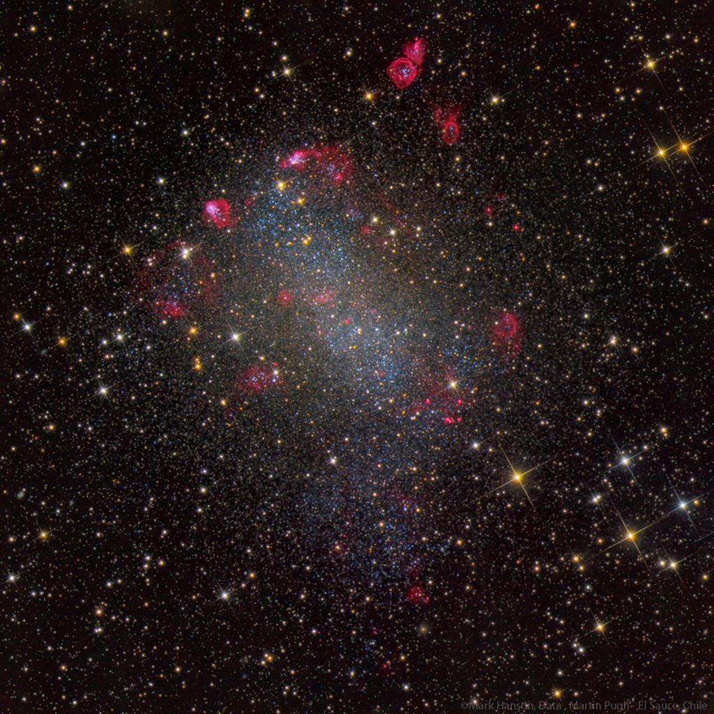 NGC 6822, galaxie de Barnard