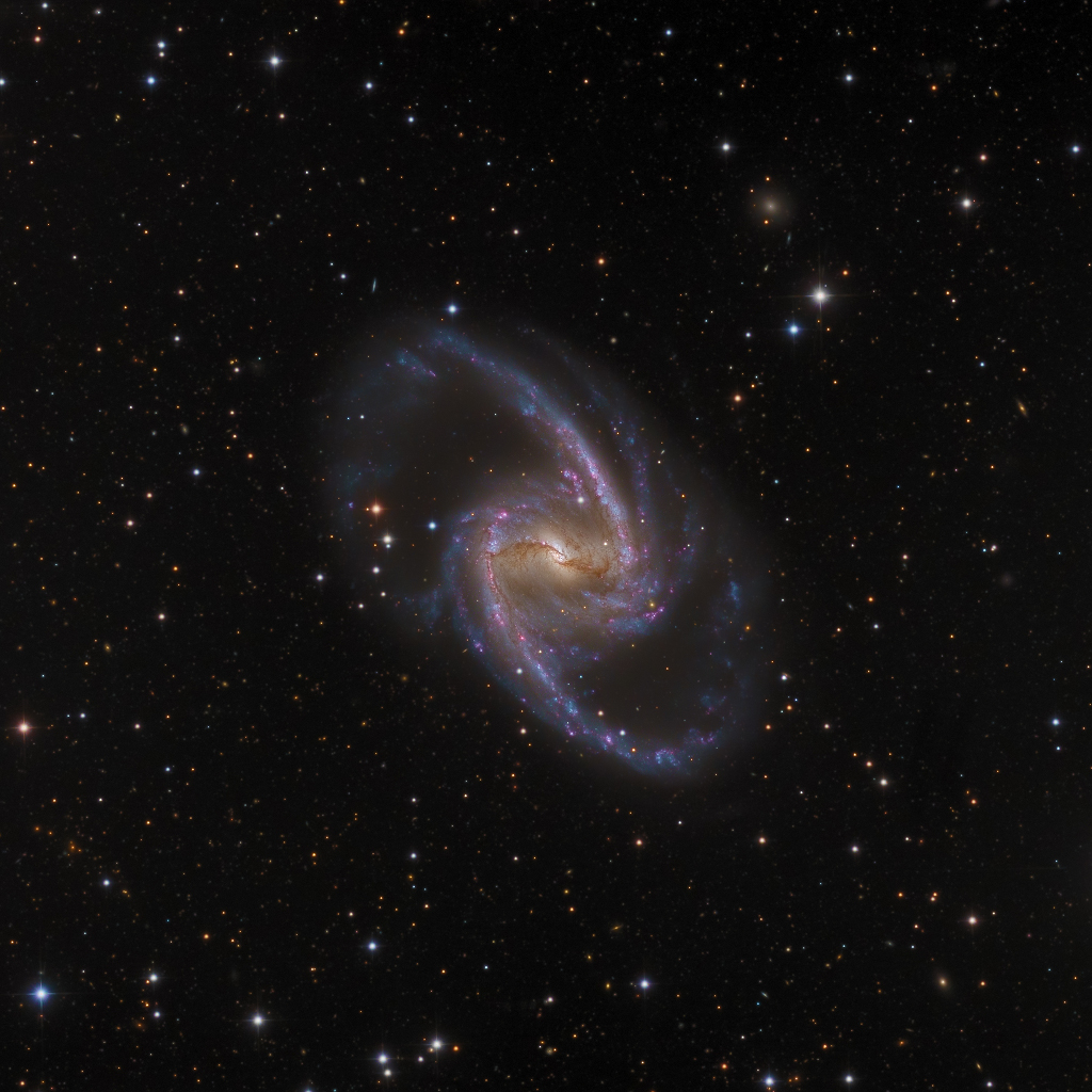 NGC 1365, majestueuse île-univers