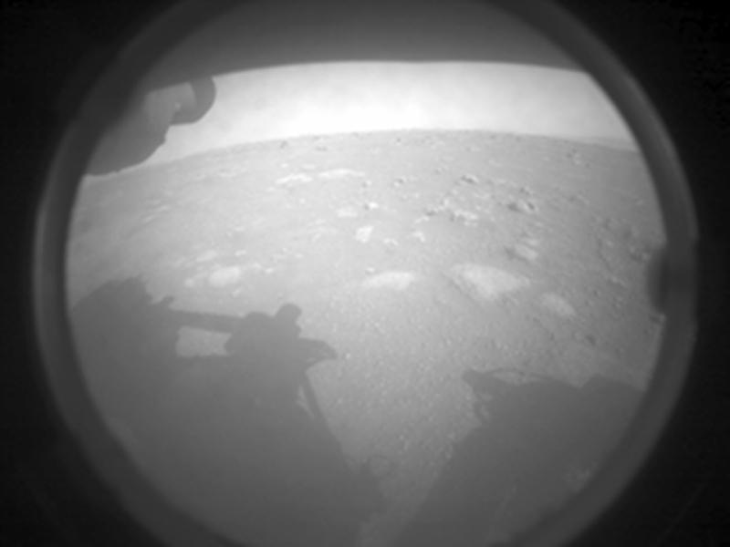 Premier jour sur Mars pour Perseverance