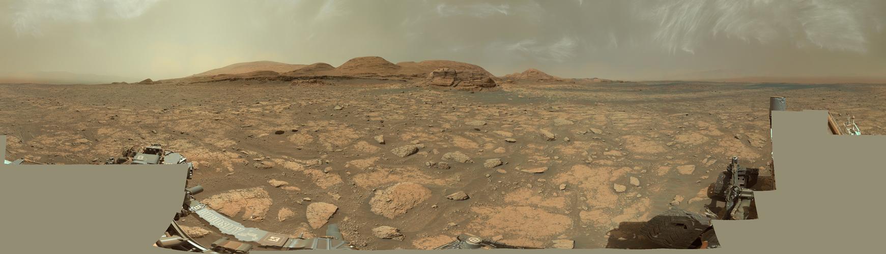 3048 jours martiens pour Curiosity