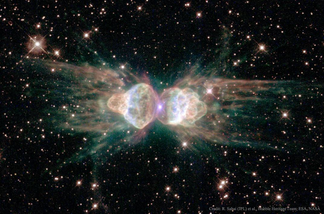 La nébuleuse planétaire Mz3