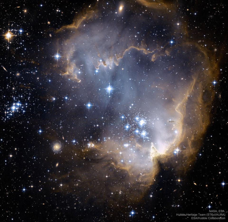 Vers NGC 602 et au-delà