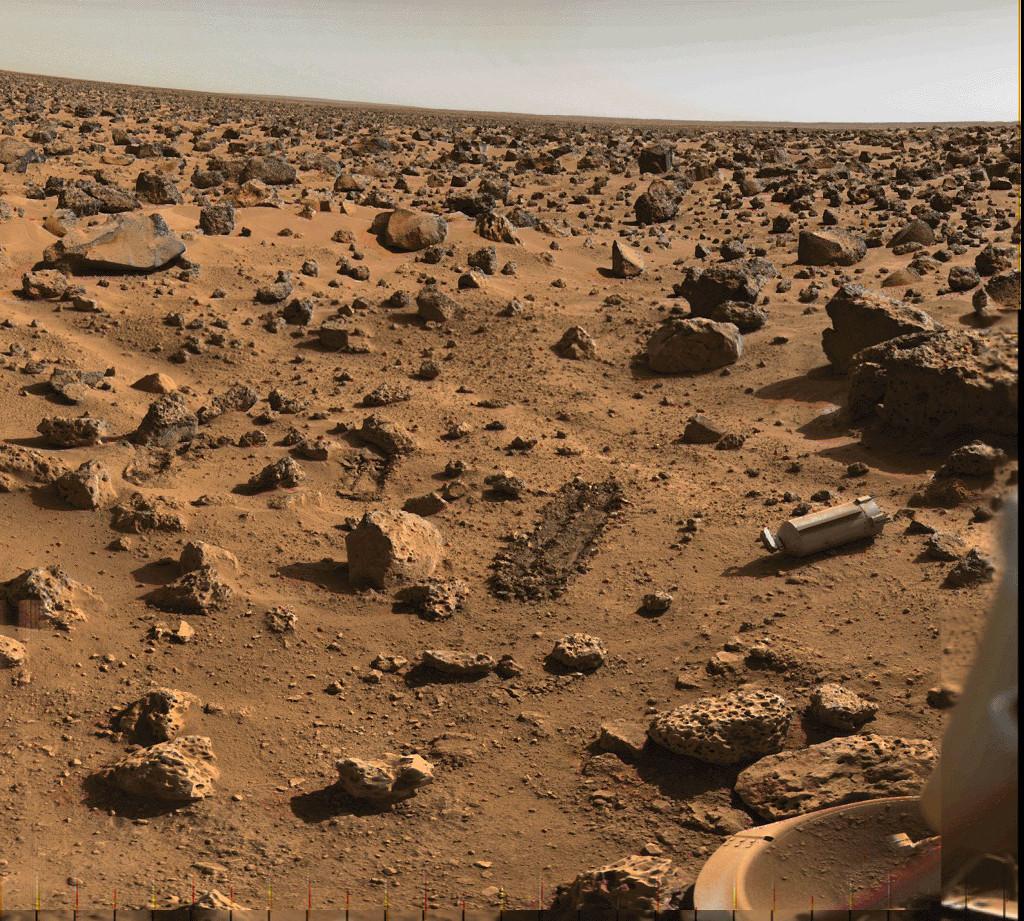 La plaine d\'Utopia sur Mars