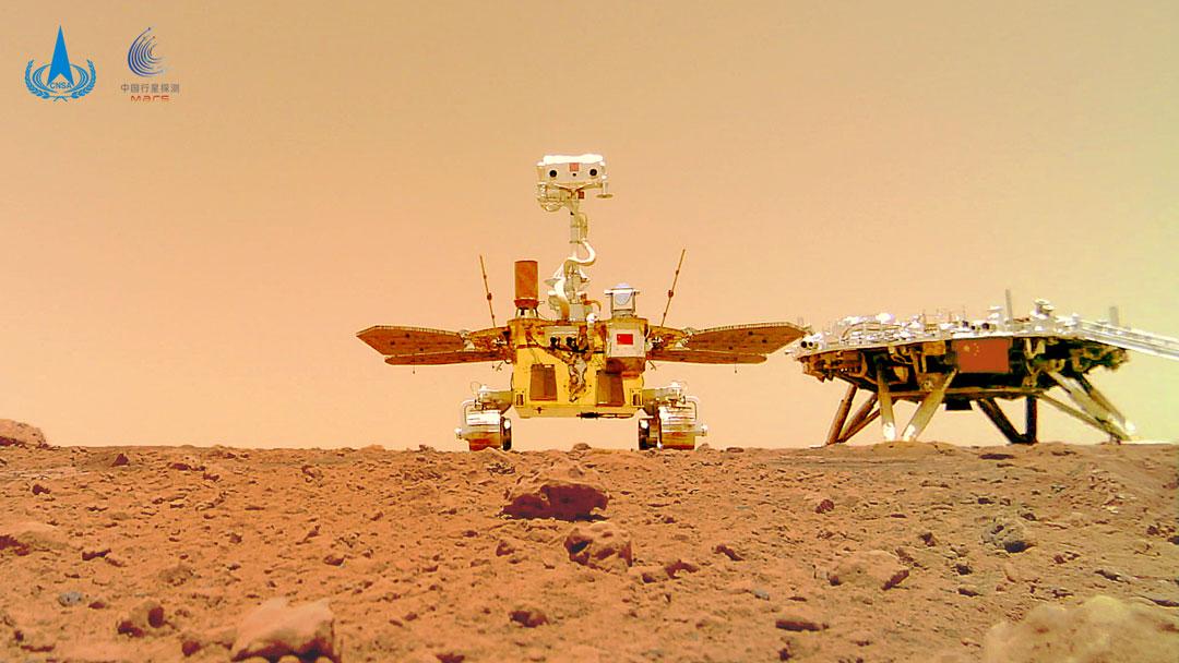 Zhurong, nouveau rover martien