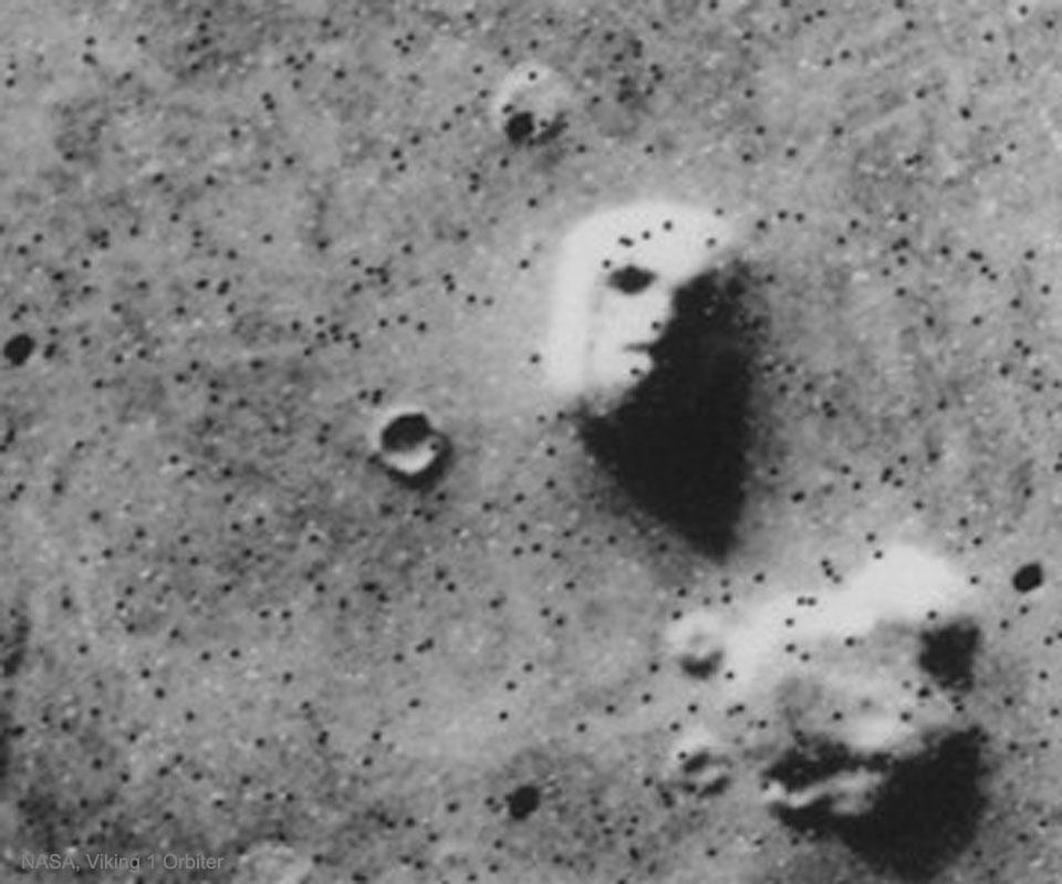 Le visage de Mars