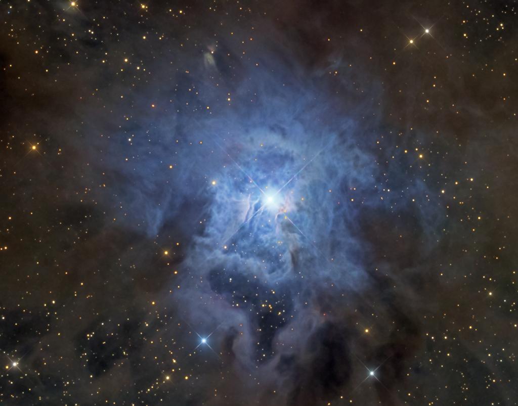 NGC 7023, nébuleuse de l\'Iris