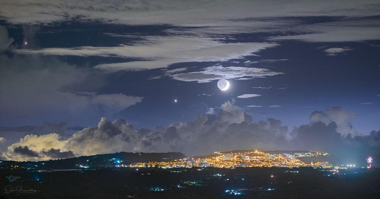 Lumière cendrée sur la Sicile